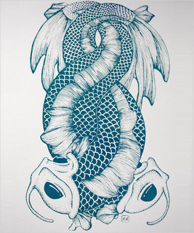 "Morgan Winter's ""Coiled Fish"" - CleverElement  - 1"