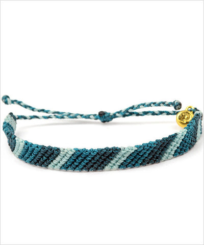 Pura Vida Flat-Braided Fair Trade Bracelet - CleverElement  - 1