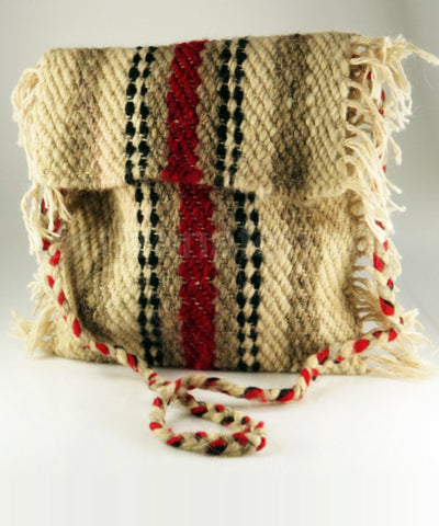 Rustic Beauty Hand-knit Messenger Bag - CleverElement