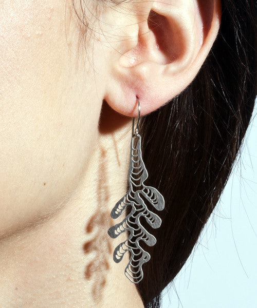 Kelp Design 3D-Printed Earrings