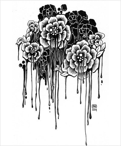"Morgan Winter's ""Dripping Flowers"" - CleverElement"