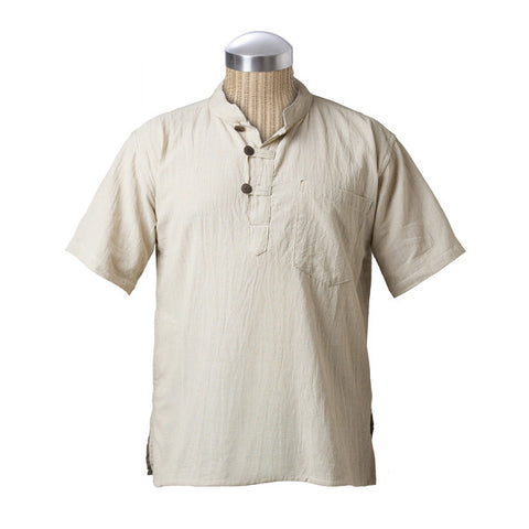 Solid Kurta T - Fair Trade Made in Nepal