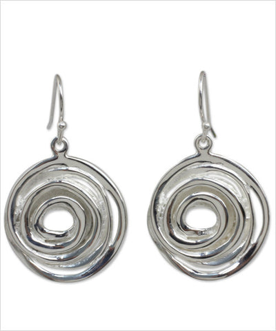 Sterling Silver Vortex Jewelry Set