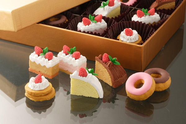 Japanese Collectible Erasers - Pastry Collection