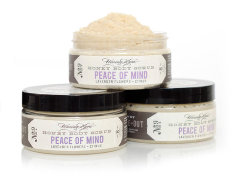 Peace of Mind Honey Body Scrub - CleverElement