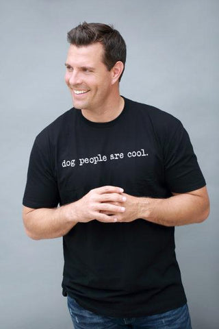 Dog People Are Cool - Men's Typewriter