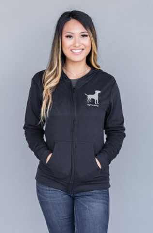 Dog People Are Cool - Black Woman's Hoody