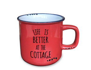 Life is Better at the Cottage Mug