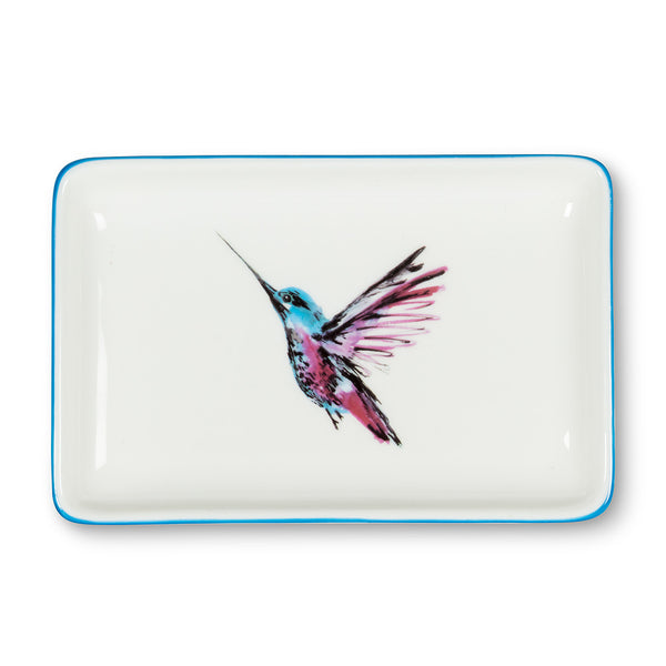 Hummingbird Rectangle Tray