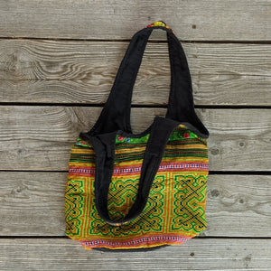 Up-cycled Fabric Patch Purse