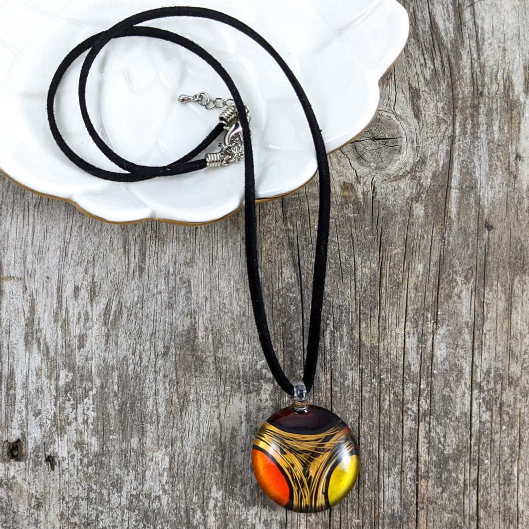 Glass Necklace : Intersection