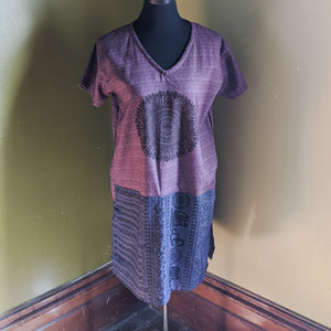 Mandala Tunic Top