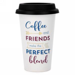 To-Go Coffee Cup : Coffee & Friends