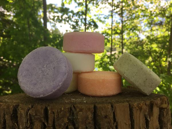 Shampoo Bar : Unscented Aloe