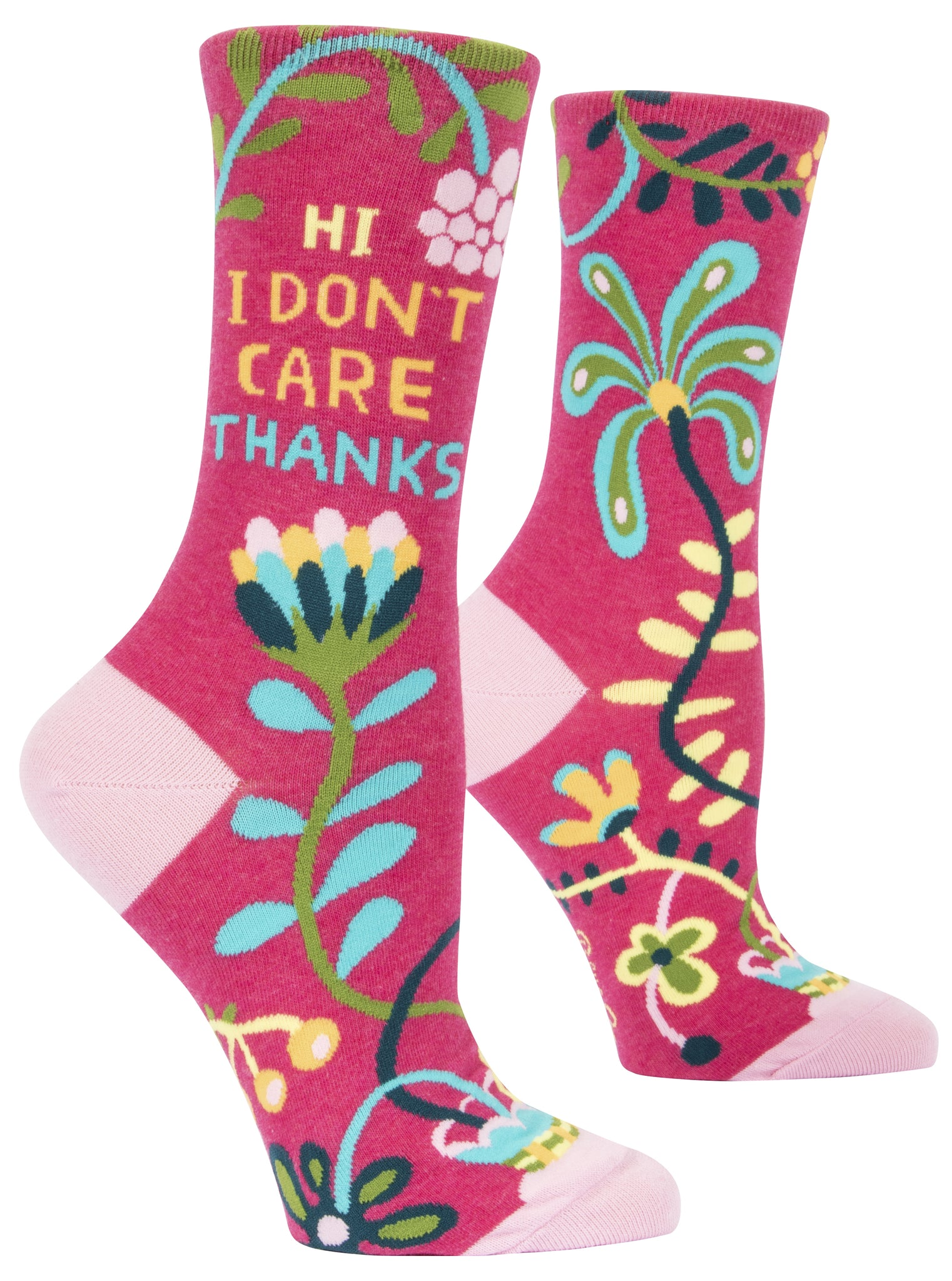 Women's Socks : Hi, I don't care, thanks.