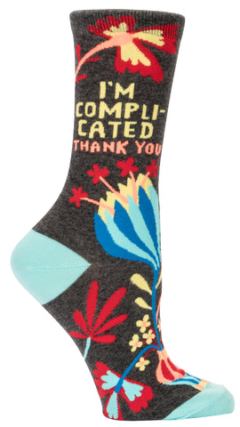 Women's Socks : I'm Complicated
