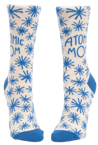 Women's Socks : Atomic Mom