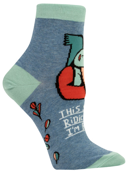 Women's Socks : This Sh** is ridiculous I'm busy.