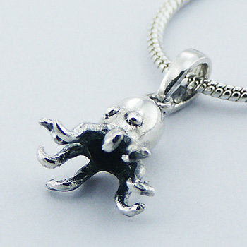 Paul the Octopus Sterling Silver Pendant