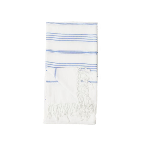 Turkish Towel : Sultan White