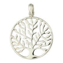 Load image into Gallery viewer, Multi Branch Tree of Life Pendant, Large, Sterling Silver