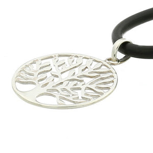 Multi Branch Tree of Life Pendant, Large, Sterling Silver