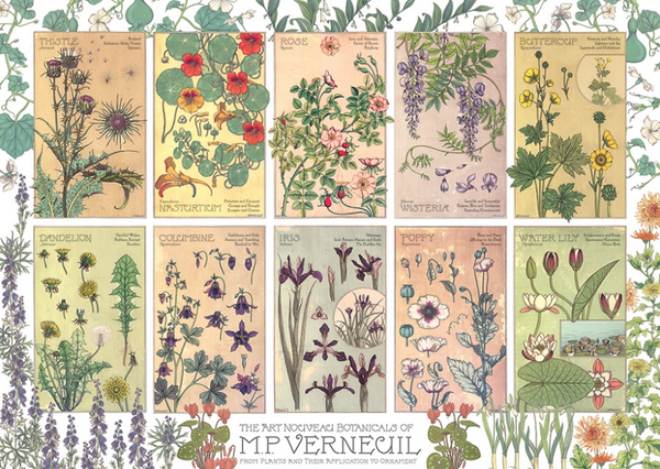 Jigsaw Puzzle : Botanicals by Verneuil