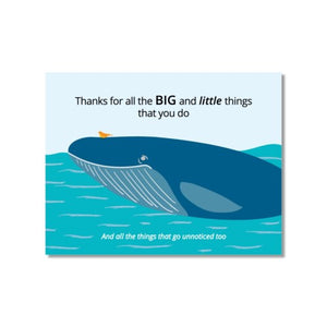 Card: Thanks for the Things You Do