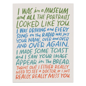 Card: Really Miss You