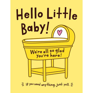 Card: Hello Little Baby