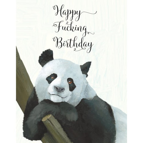 Card: Happy Birthday Panda