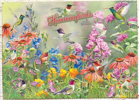 Jigsaw Puzzle : Humming Birds