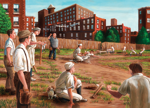 Jigsaw Puzzle : Old Time Baseball