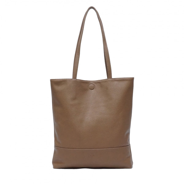 Amia 2-in-1 Reversible Tote. Vegan Leather.