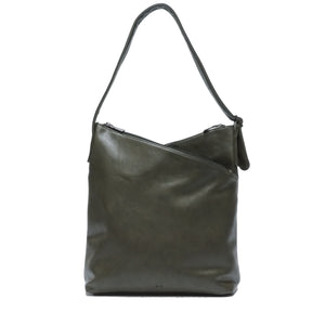 Saima Purse : Olive. Vegan Leather.