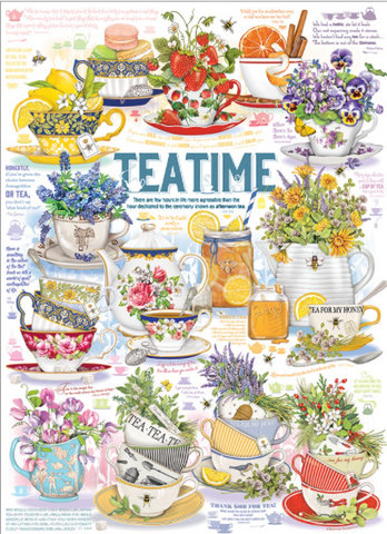 Jigsaw Puzzle : Tea Time