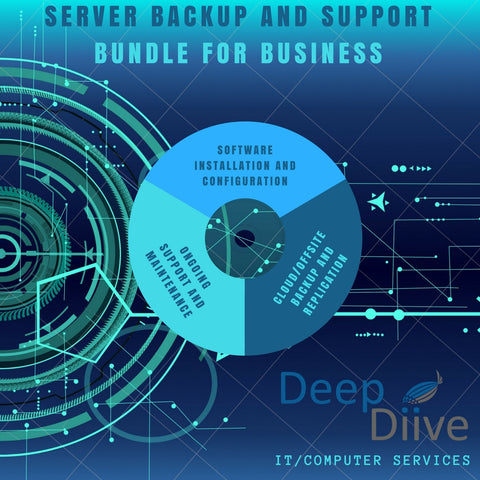 Server Backup and Support Bundle for Business