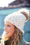 Gunn Beanie in White Lie