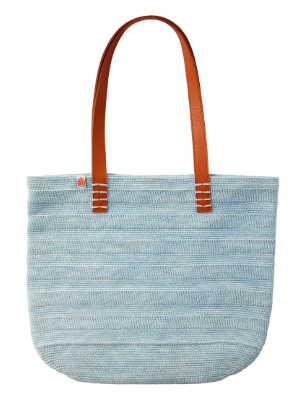 Ainslie Tote in Sunkissed Blue