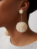 Chickie Earrings in Cream