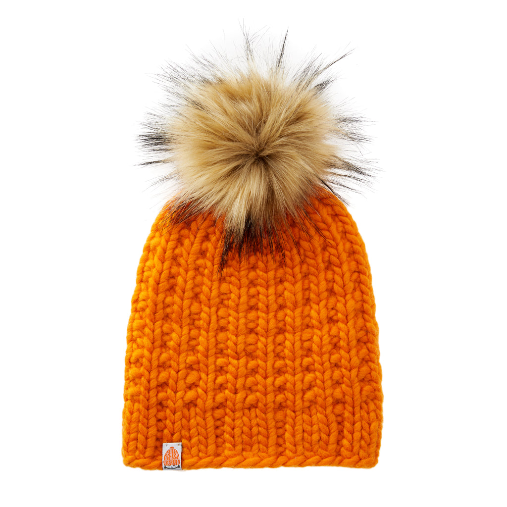 Ladd Beanie in Orange