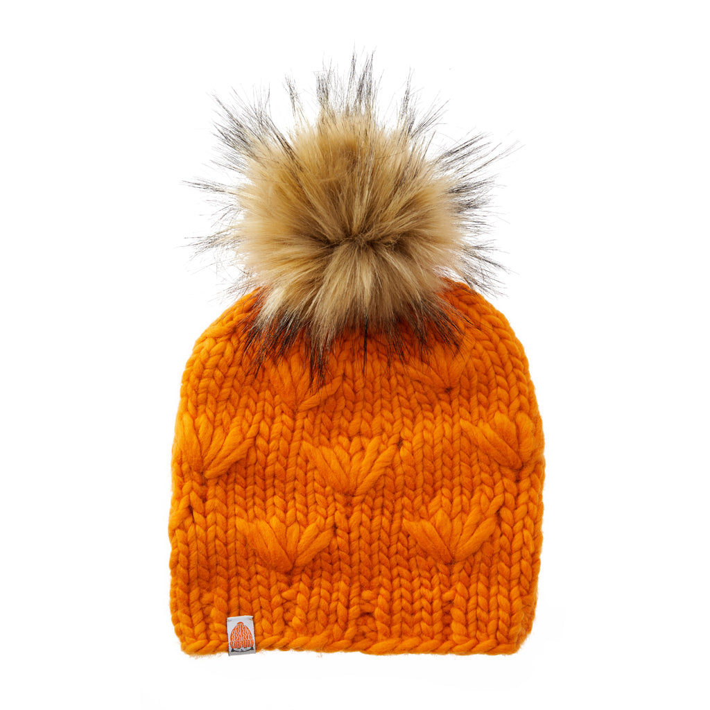 Motley Beanie in Orange