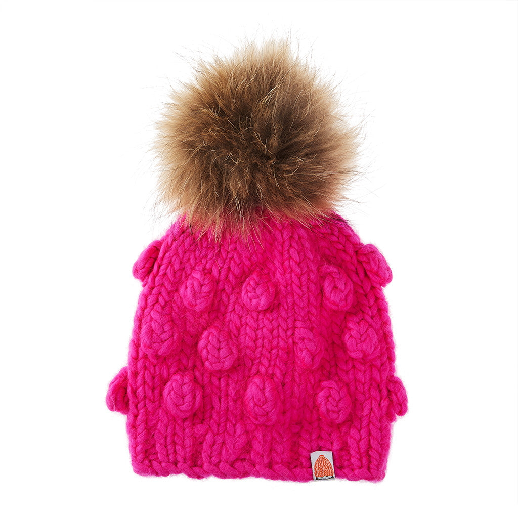 6ca5e52c0477 Lil Sh*ts - Lil' Campbell Hat in Pink – Shit That I Knit