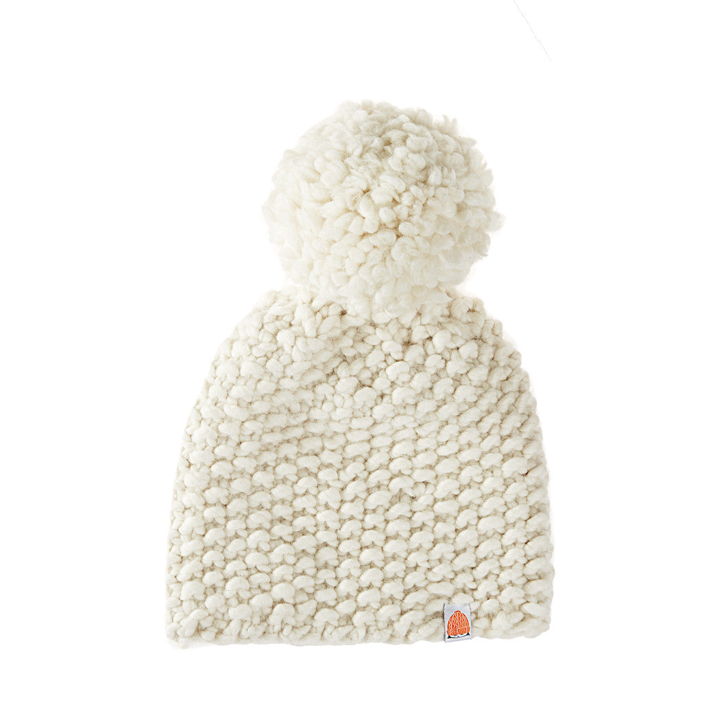 MacKeen Beanie in White Lie