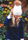 Ladd Beanie in White Lie