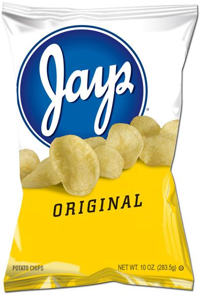 Jays Hot Stuff Chips & Jays Original Chips