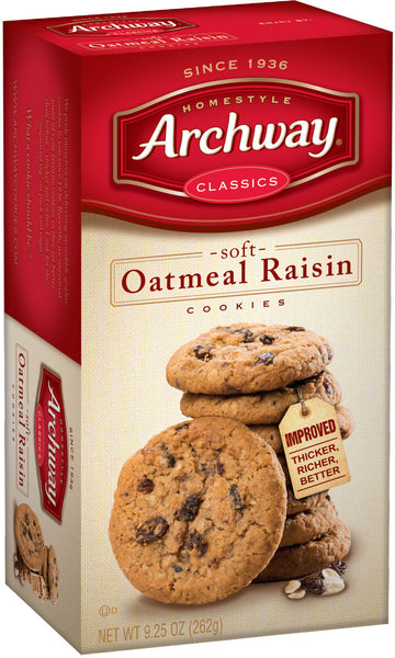 Archway Oatmeal Raisin Cookie