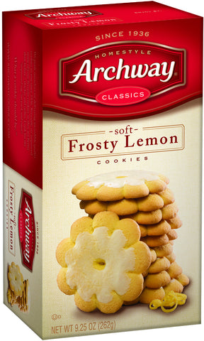 Archway Frosty Lemon Cookies