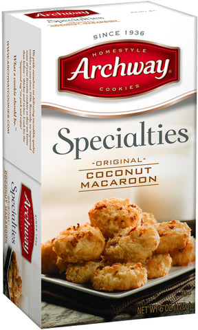 Archway Coconut Macaroon Cookies
