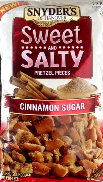 Snyder's of Hanover Salted Caramel Pieces & Cinnamon & Sugar Pieces Pieces (Mixed Case)